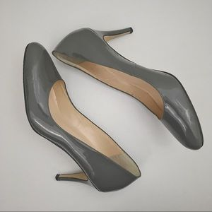 Preview International Grey Pumps Leather Size 10M